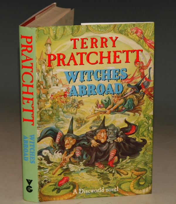 Image for Witches Abroad A Discworld Novel. Signed by the Author.