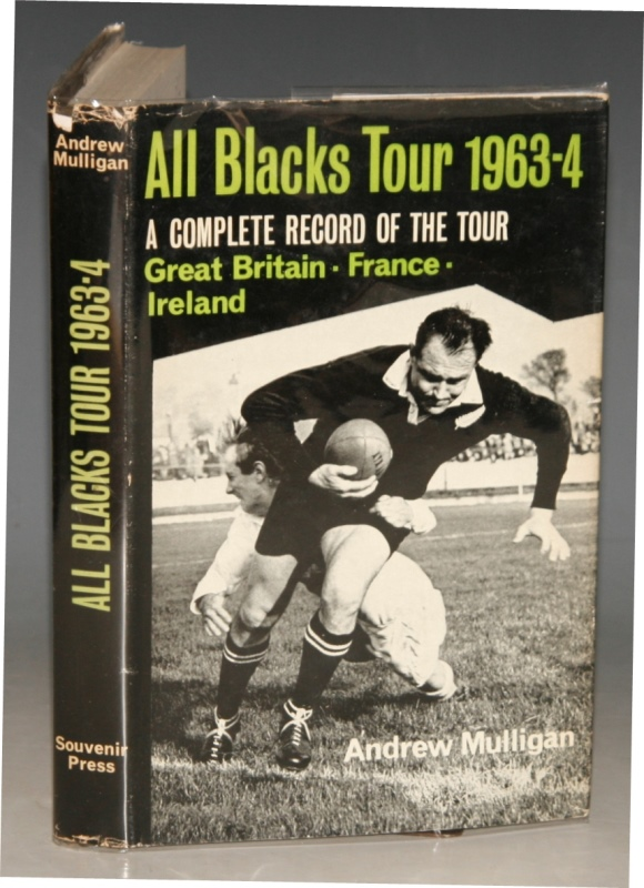 Image for All Blacks Tour 1963-4. A Complete Record of the Tour. Gt. Britain, Ireland, France.