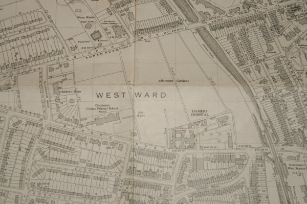Image for Ordnance Survey MAP Sheet SY 6890. No. 65.  DORCHESTER, DORSET. Plan SY 6890. Scale 1:2500 or 25.344 inches to 1 mile.