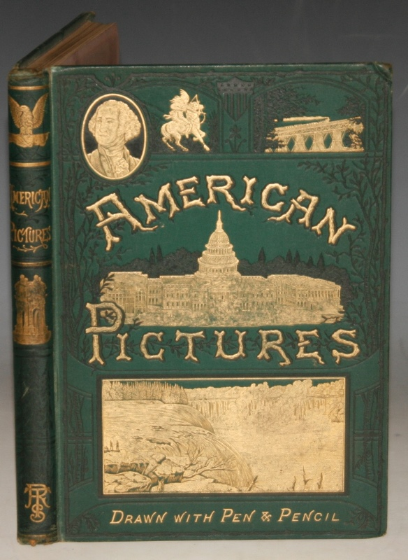 Image for American Pictures Drawn with Pen and Pencil.