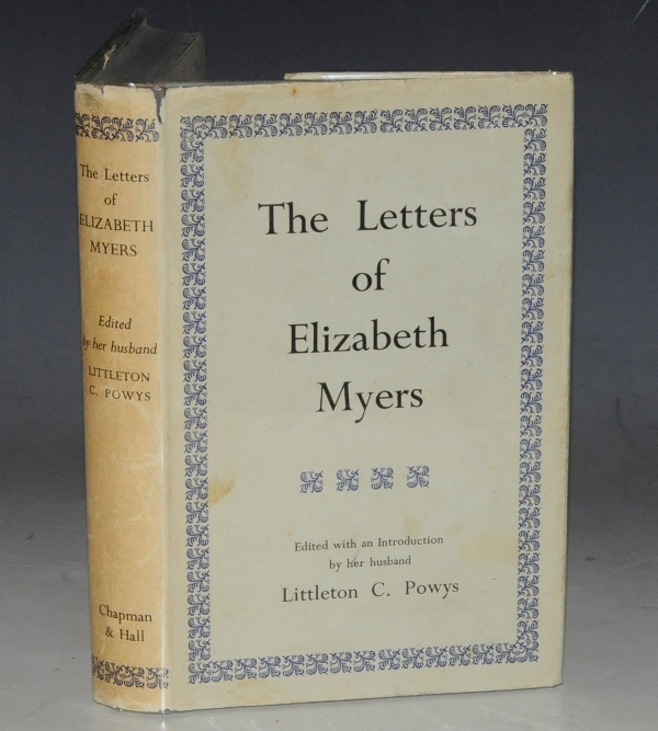 Image for The Letters of Elizabeth Myers.