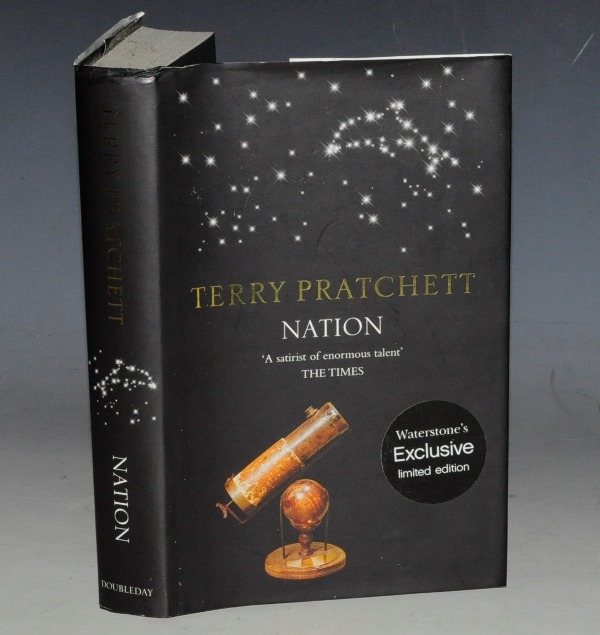 Image for Nation. Exclusive Edition For Waterstone's. Limited Numbered Edition.