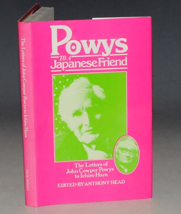 Image for Powys to a Japanese Friend. Edited by Anthony Head.