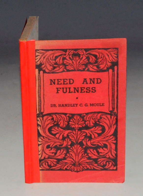 Image for Need and Fulness. The Keswick Library.