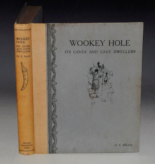 Image for Wookey Hole. Its Caves and Cave Dwellers. With an introduction by Professor Boyd Dawkins. Period Restorations and Numerous Drawings by John Hassall. Cave Photographs and Diagrams by J. H. Savory.