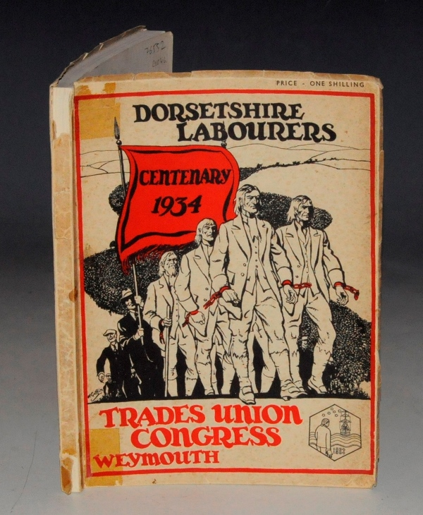 Image for Souvenir of the Trades Union Congress. Weymouth 1934. Dorsetshire Labourers Centenary 1934.