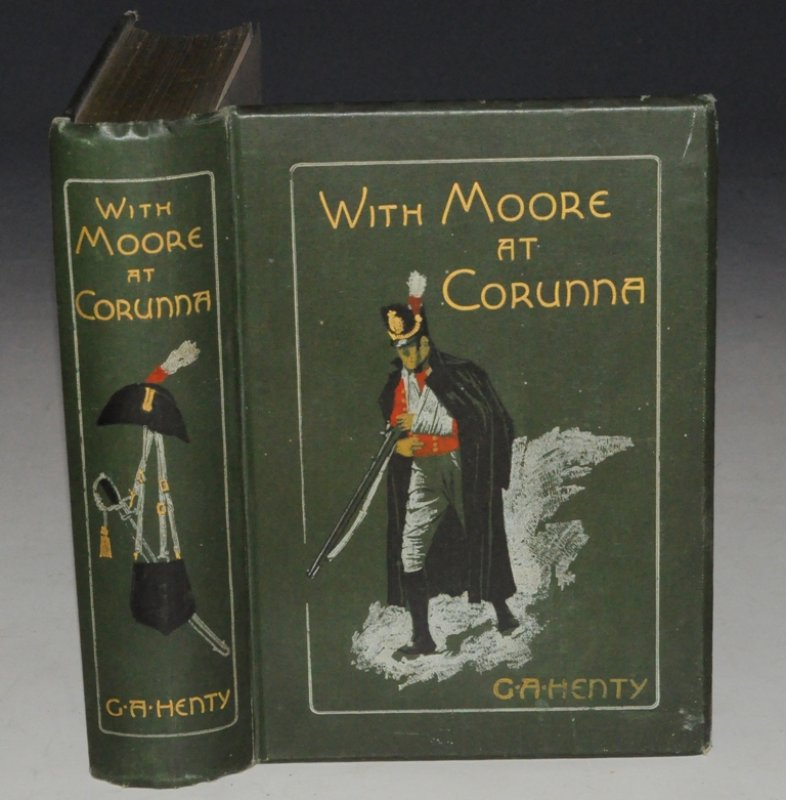 Image for With Moore At Corunna. With Twelve Illustrations by Wal Paget.