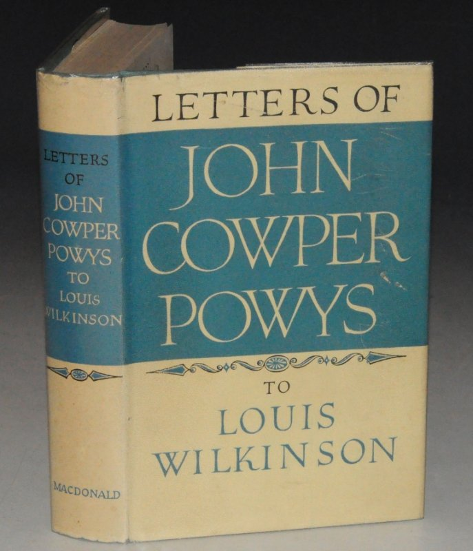 Image for Letters of John Cowper Powys to Louis Wilkinson 1935 - 1956.