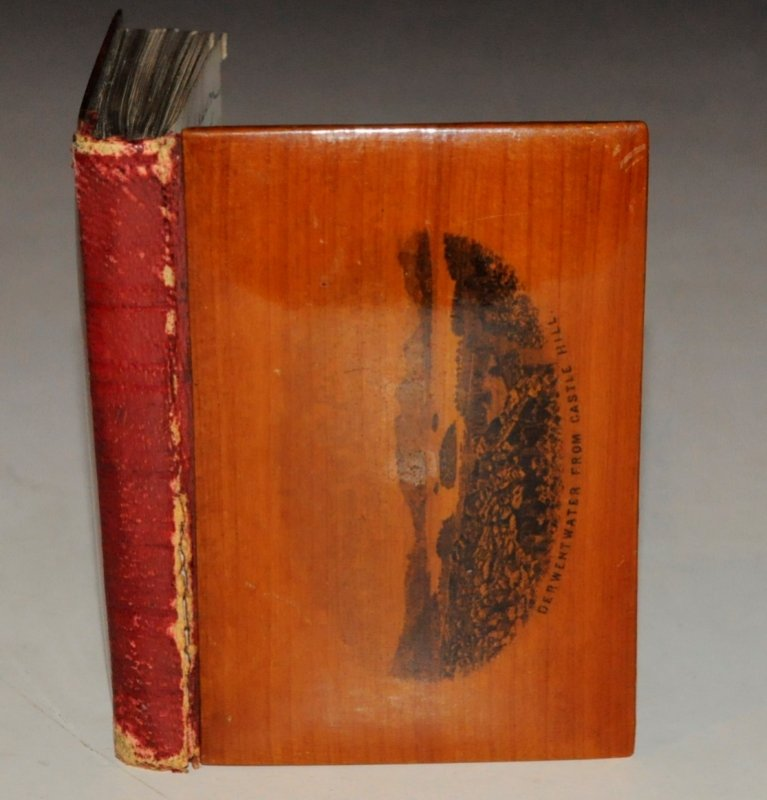 Image for Addressbook, Notebook. Containing Notable Dates Such as The Death of King George VI 1952. In Mauchline Ware Binding.
