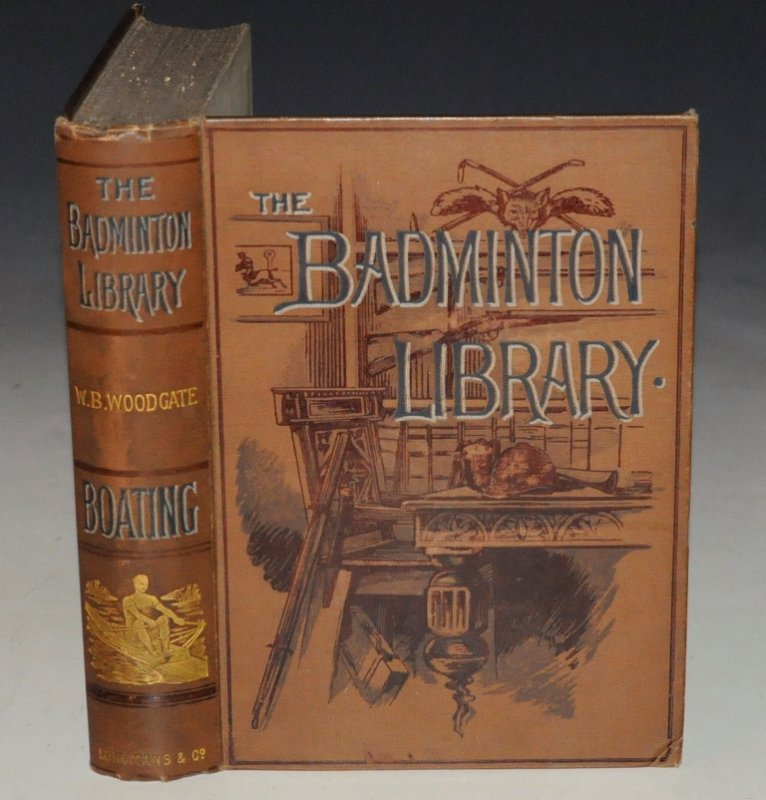 Image for BOATING. With an introd.by the Rev. E .Warre, and A Chapter on Rowing at Eton. (The Badminton Library).