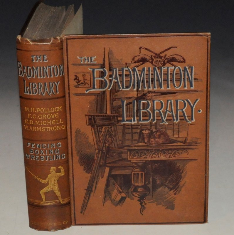 Image for Fencing, Boxing & Wrestling. With a Complete Bibliography of the Art by Egerton Castle. With Illustrations from Photographs. Second Edition. The Badminton Library.