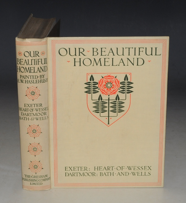 Image for Our Beautiful Homeland: Exeter. Heart of Wessex. Dartmoor. Bath and Wells. Text by S. HEATH & L. SALMON.