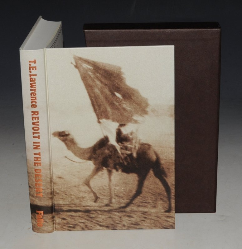 Image for Revolt in the Desert. Introduction by R. Trevelyan. Photographs by T. E. Lawrence and others. Sketches by Edward Bawden. Seventh Printing in New Binding.