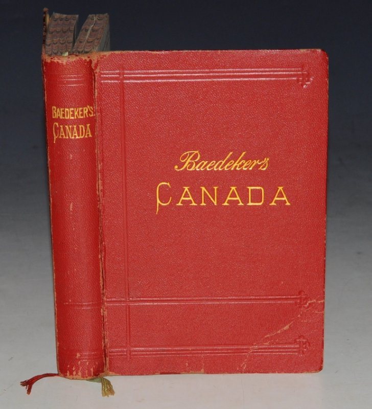 Image for The Dominion of Canada with Newfoundland and an Excursion to Alaska. Handbook for travellers. With 14 Maps and 12 Plans. Fourth Revised and Augmented Edition.