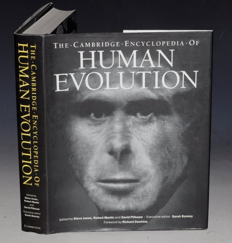 Image for The Cambridge Encyclopedia of Human Evolution. Foreword by Richard Dawkins.