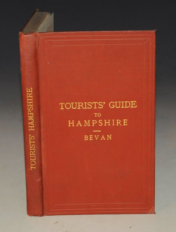 Image for Tourists Guide to Hampshire, Including the Isle of Wight With Map and Plan. Second Edition.