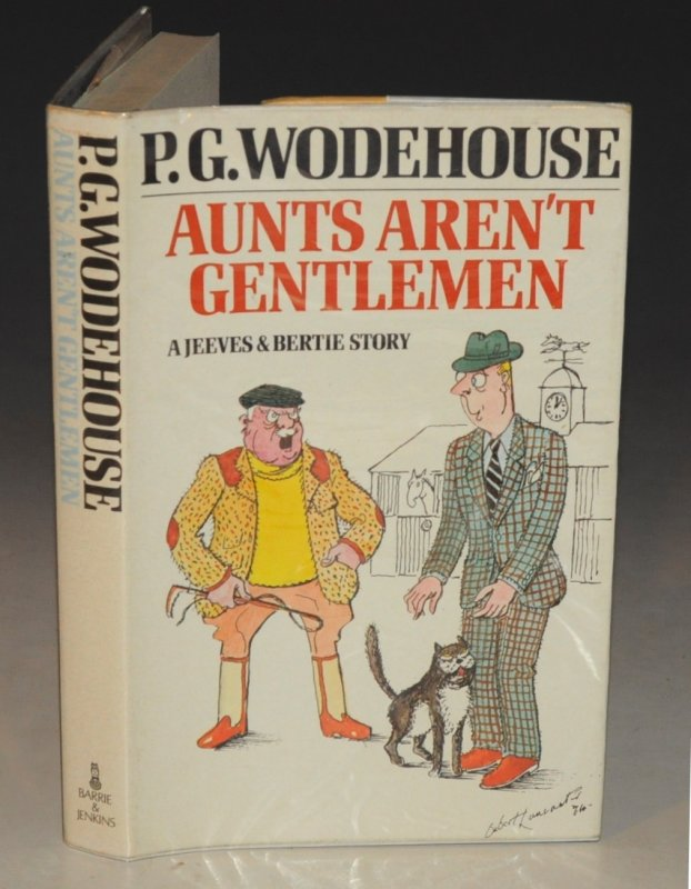 Image for Aunts Aren't Gentlemen.