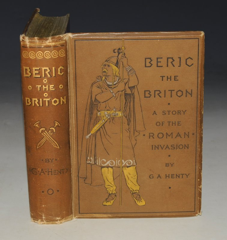Image for Beric the Briton. A Story of the Roman Invasion. With twelve illustrations by W.Parkinson.