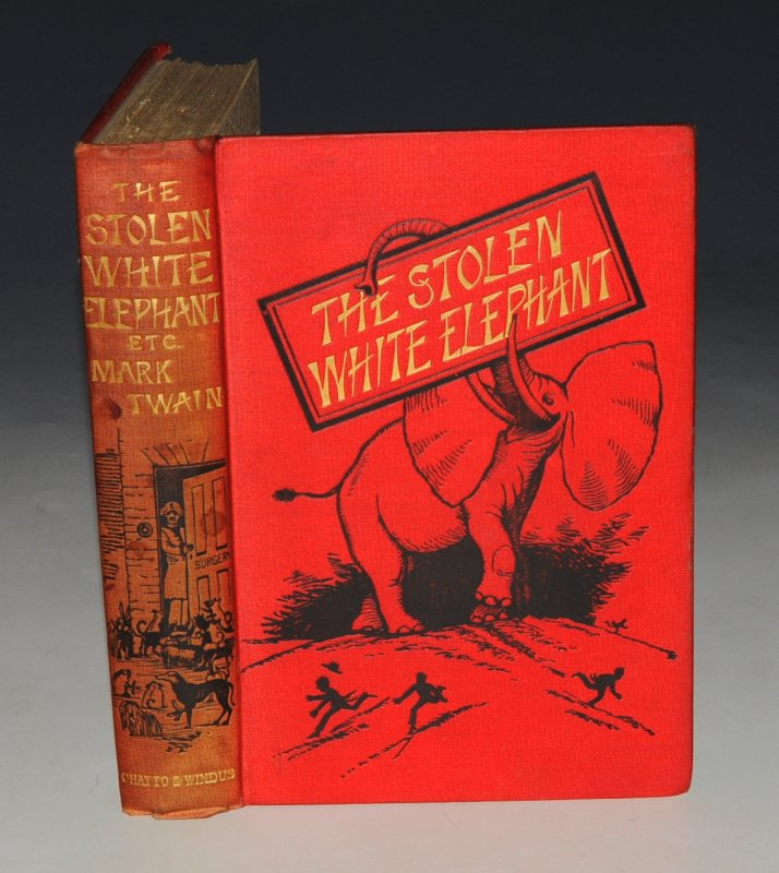 Image for The Stolen White Elephant, etc. (Samuel L. Clemens.)
