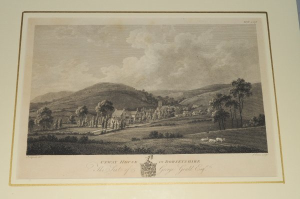 "Image for Upwey House in Dorchester. Original Engraved View. ""The Seat of George Gould Esq."""