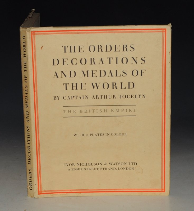 Image for The Orders Decorations and Medals of The World The British Empire. SIGNED BY AUTHOR.