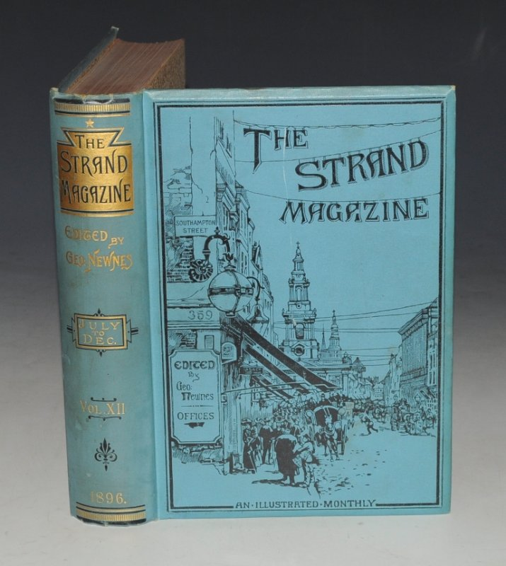 Image for THE STRAND MAGAZINE. An Illustrated Monthly. Vol. XII (12) July - December 1896. With: A.CONAN DOYLE: Rodney Stone. (Chaps.1 - 10)
