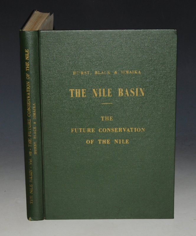 Image for The Future Conservation of The Nile. The Nile Basin. Volume VII. Physical Department Paper No. 51. Signed by Author.