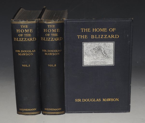 Image for The Home of the Blizzard. Being the Story of the Australasian Antarctic Expedition, 1911-1914. Illustrated in colour and black and white also with maps. In two volumes.