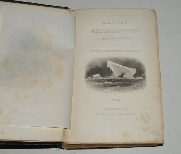 Image for Arctic Explorations in the years 1853, '54, '55. Two volumes.