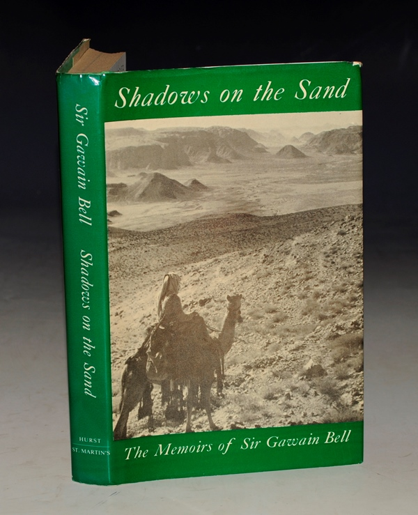 Image for Shadows on the Sand, The Memoirs of Sir Gawain Bell. SIGNED COPY.