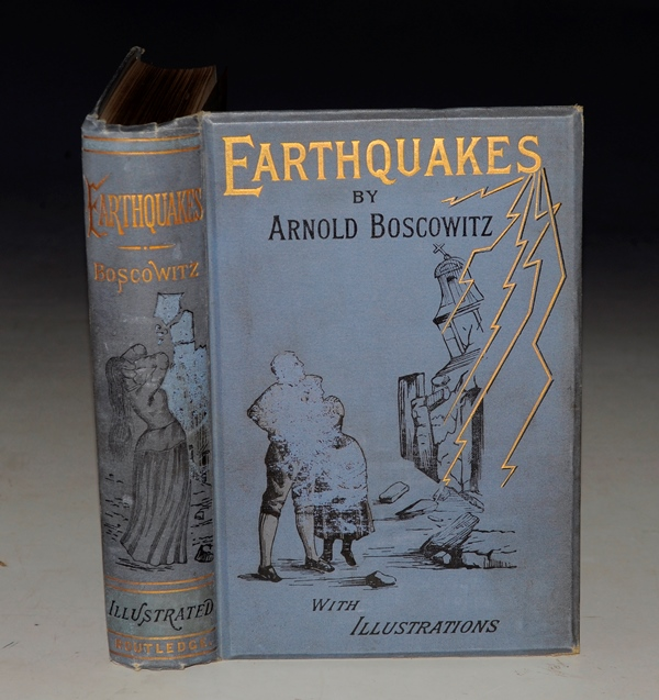 Image for Earthquakes. Translated from the French of Arnold Boscowitz. With Fifty-Seven Illustrations.