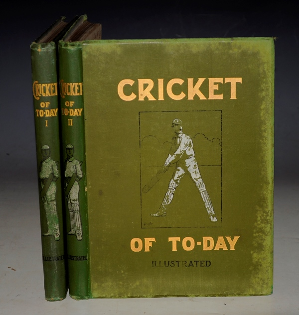 Image for Cricket of To-Day and Yesterday. With special articles by famous cricketers, incl.K. S. RANJITSINHJI, P.F. WARNER, D.L.A. JESPHSON, ROBERT ABEL, and WILFRED RHODES. Subscription Illustrated Edition. In Two Volumes.