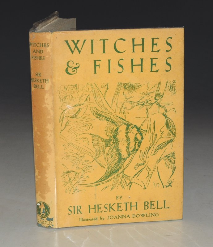 Image for Witches & Fishes. Illustrated by Joanna Dowling.