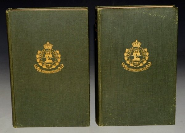 Image for The Dorsetshire Regiment. The Thirty-Ninth and Fifty-Fourth Foot and The Dorset Militia and Volunteers. Three Volumes Bound in Two.