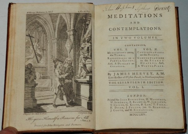 Image for Meditations and Contemplations. In Two Volumes. The Seventeenth Edition.
