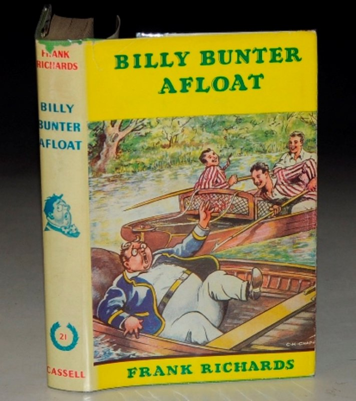 Image for Billy Bunter Afloat. Illustrated by C. H. Chapman.