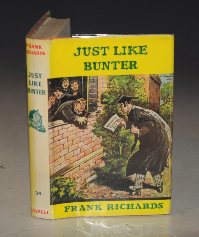 Image for Just Like Bunter Illustrations by C. H. Chapman.