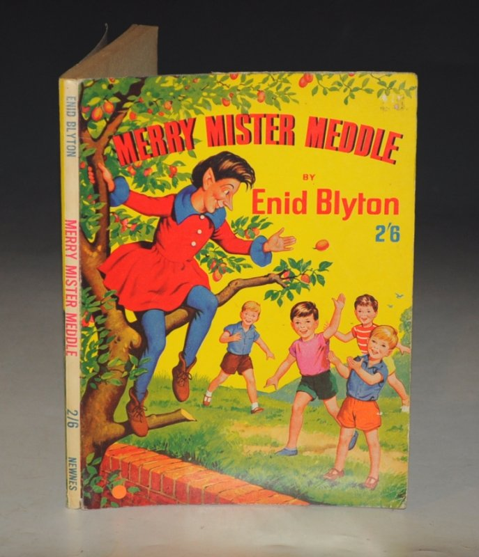 Image for Merry Mister Meddle! Illustrated by Rosalind M. Turvey and Joyce Mercer.
