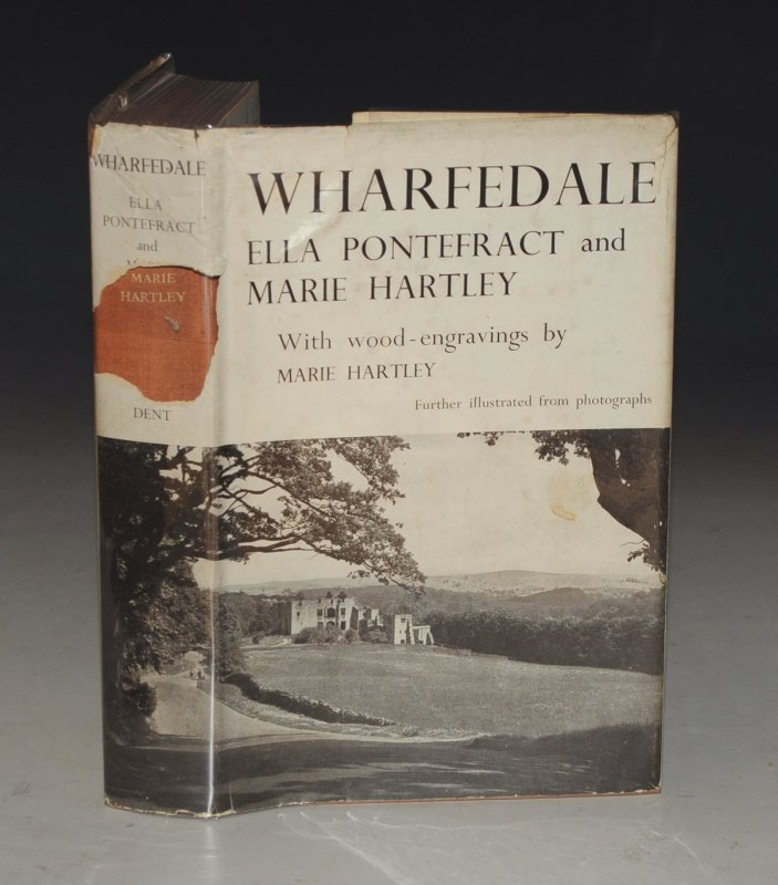 Image for Wharfedale. In Collaboration With and with Wood-Engravings by Marie Hartley.