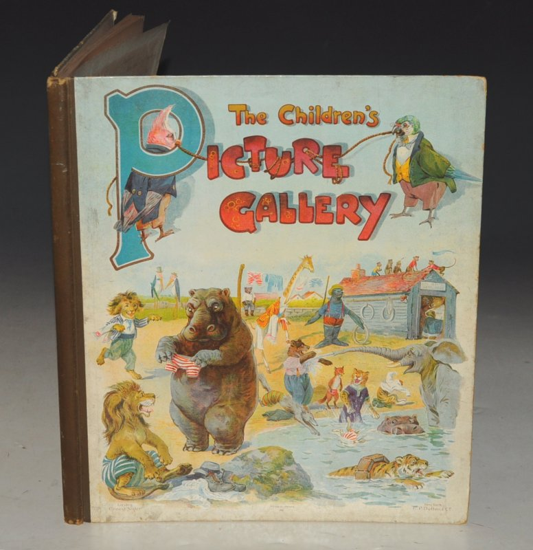 Image for The Children's Picture Gallery. With Illustrations by Harry Rowntree, Louis Wain, and many others.
