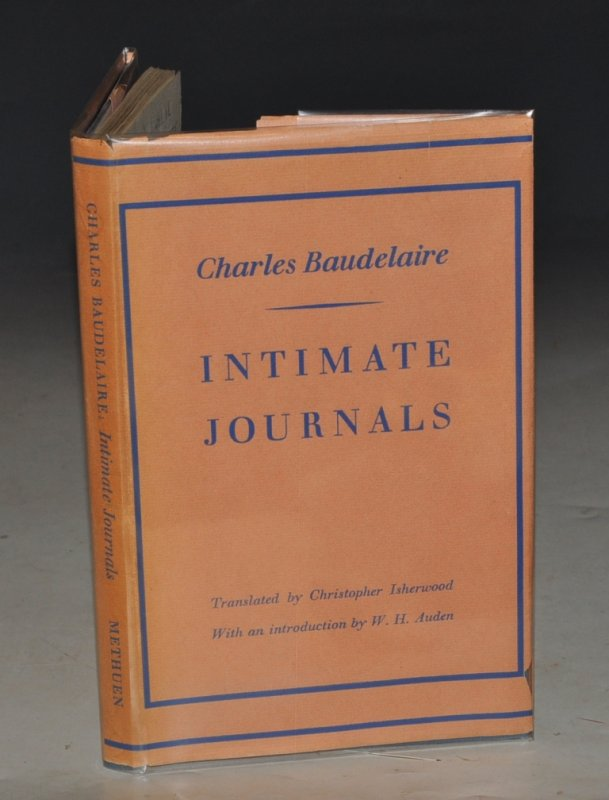 Image for Intimate Journals. Translated by Christopher Isherwood, Introduction by W. H. Auden. With Six Collotype Plates and One Line Drawing. LIMITED EDITION of 750 Copies.