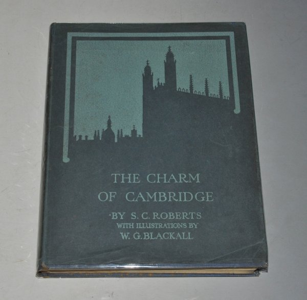 Image for The Charm of Cambridge. Illustrated by W. G. Blackall.