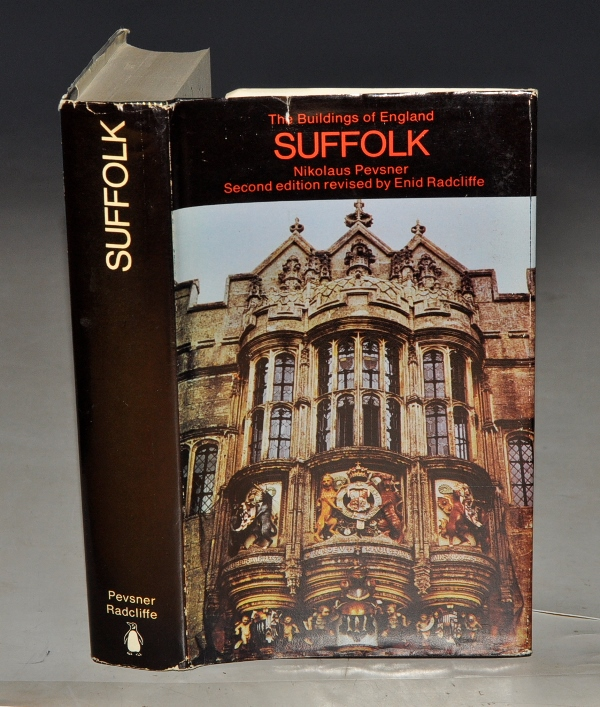 Image for Suffolk. The Buildings of England.