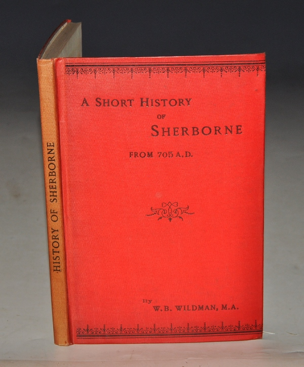 Image for A Short History of Sherborne. From 705 A.D.