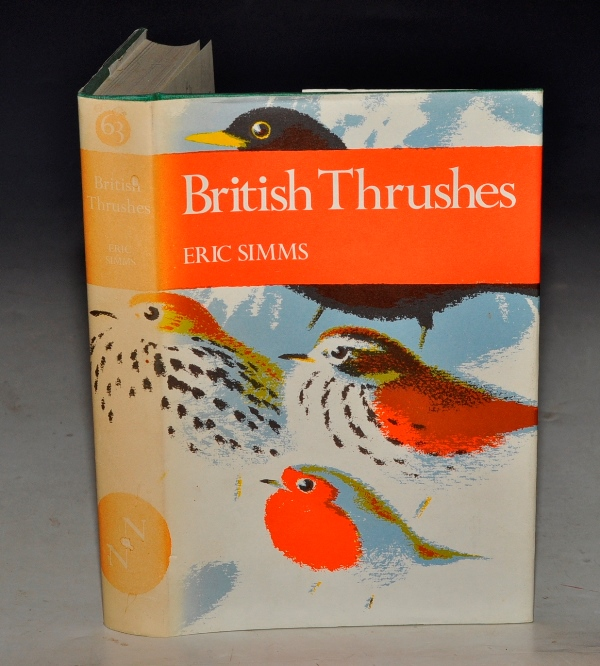 Image for British Thrushes. (The New Naturalist 63).