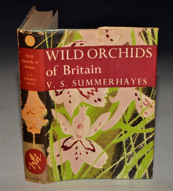 Image for Wild Orchids of Britain. With a key to the species. (The New Naturalist 19). With 61 photographs in colour by Robert Atkinson and others. 39 photographs in black and white 19 text figures and 43 distribution maps.
