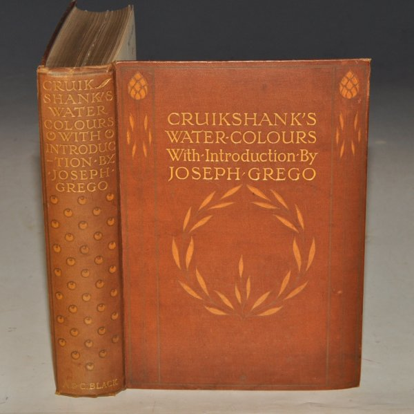 Image for Cruikshank's Water Colours. With an Introduction by Joseph Grego.