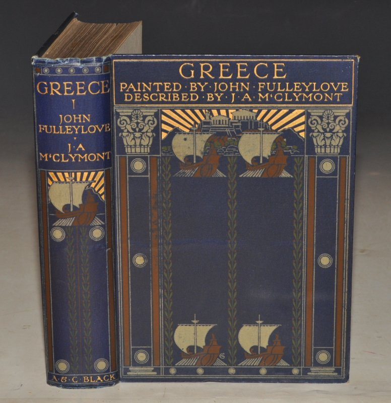 Image for Greece. Painted by John Fulleylove. Described by J. A. McClymont.
