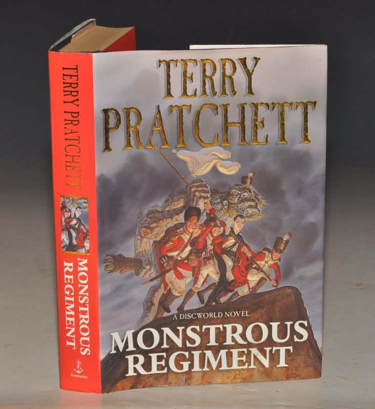Image for Monstrous Regiment. A Discworld Novel.