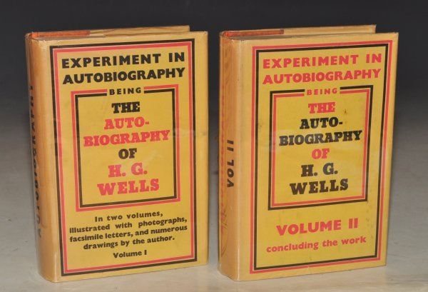 Image for Experiment in Autobiography. Discoveries and Conclusions of a Very Ordinary Brain (since 1866). In Two Volumes.